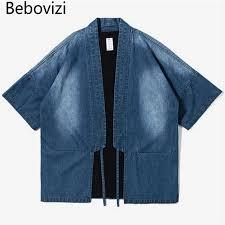 <b>Bebovizi Brand 2018</b> Men's Robe Cotton Shirt Personality Trends ...