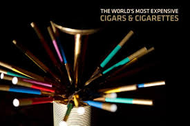 The World's Most Expensive Cigars and Cigarettes
