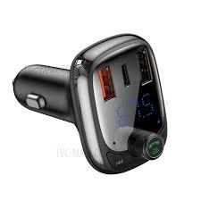Shop <b>BASEUS S</b>-<b>13 T</b> Type Wireless MP3 Charger Car PPS Quick ...
