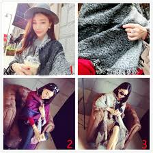 Fashion Scarf Women Cashmere Pashmina Wool Scarf Shawl ...