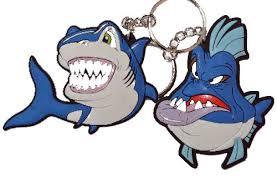 <b>Брелок для ключей</b> Акула-злюка купить в интернет-магазине ...