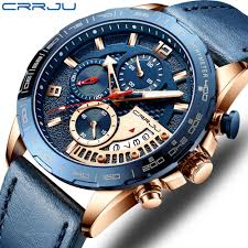 <b>Mens</b> Watch Top Luxury Brand CRRJU Watch <b>Fashion Sport</b> ...