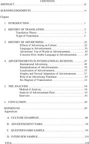 strategies and limitations in advertising translation from english advertisements in international business 47 international advertising 49 standardization of advertisements