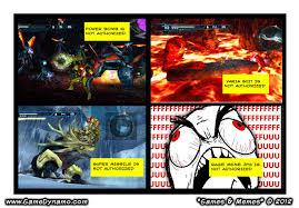 Games & Memes Comics: Other M Not Authorized   GameDynamo via Relatably.com