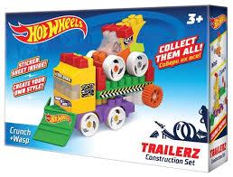 <b>Конструктор Bauer Hot</b> Wheels 724 Trailerz Crunch + Wasp ...