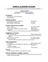 academic resume tk category curriculum vitae