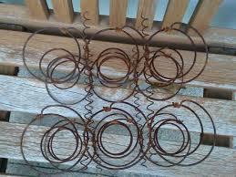 Lot of Six <b>Vintage</b> Bed Springs Metal Crafts <b>Steampunk</b> Repurpose ...