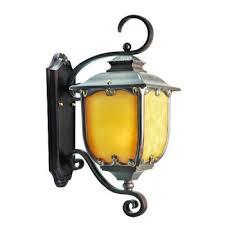 Lanterna Da Parete : Arredo casa lampada da muro in stile lanterna antica myefox