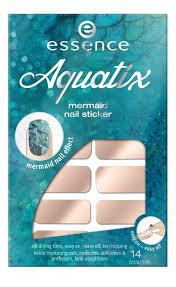 Купить <b>наклейки для ногтей aquatix</b> mermaid nail sticker essence ...