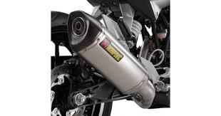 <b>KTM Duke 125</b>/200 Akrapovic Titanium <b>Slip</b>-on Exhaust