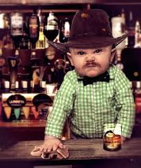 Internet Goes Nuts Over Adorably Cranky Bartender Baby   Kids2 ... via Relatably.com