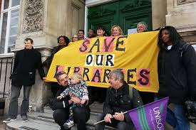 Image result for barnet libraries strike