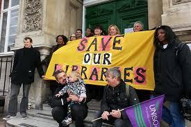 Image result for barnet libraries strike