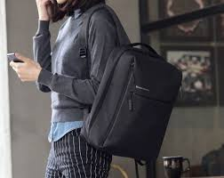 <b>Xiaomi Mi</b> Minimalist Urban Lifestyle Waterproof <b>Backpack</b> - Dark Grey