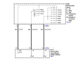 wiper motors and switch wiring diagram for a 03 ford f650 truck