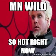 Mn wild So hot right now - Mugatu | Meme Generator via Relatably.com
