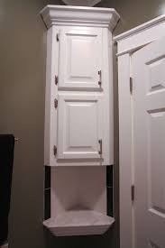 bathroom space savers bathtub storage: over the toilet storage cabinet decofurnish