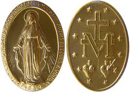 Image result for catholic medals