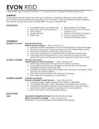 automotive resume samples  seangarrette coautomotive