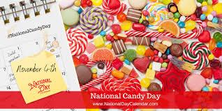 NATIONAL CANDY DAY - November 4 - National Day Calendar