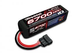 <b>Аккумулятор</b> 6700mAh 14.8v 4-Cell 25C LiPO <b>Battery</b> TRX iD Plug ...
