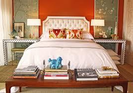 a splash of orange for the stylish bedroom design domicile interior design charming bedroom feng shui