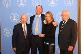 blog richard h weiner accompanied by his wife bonnie weiner is presented this year s bergen county professional lawyer of the year award at the nj