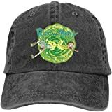 RICK AND MORTY Baseball Cap Logo <b>Dad Hat Curved Brim</b> ...