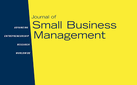 journal of small business management jsbm international journal of small business management jsbm international council for small business