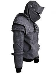 [52% OFF] Solid Color <b>Men's Retro</b> Drawstring Knight Sweater ...