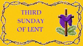 Image result for 3rd sunday lent