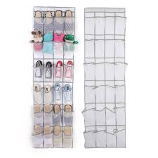 <b>24 grid</b> non-woven <b>bag</b> door <b>storage</b> behind the mesh hanging ...