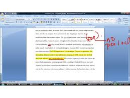 mla format citations in essay
