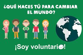 Resultado de imagen de fotos voluntarios comercio justo
