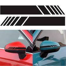 2 шт./лот, автомобильная <b>наклейка на зеркало заднего</b> вида ...