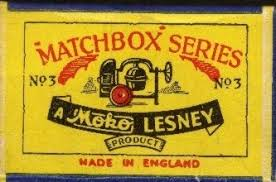 Image result for first matchbox