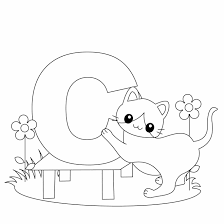 Small Picture Coloring Pages Of Alphabet Blocks Coloring Pages