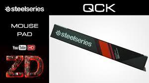 Обзор <b>коврика для мыши SteelSeries</b> QCK Gaming - YouTube