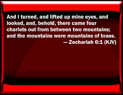 Image result for zechariah 6:1