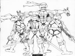 Small Picture adult pictures of ninja turtles to color printable pictures of