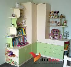 Купить <b>Угловой</b> шкаф в детскую комнату - комбинированный ...