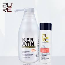 <b>PURC</b> Brazilian <b>Keratin</b> 5%<b>8</b>%12% <b>Formalin</b> 300ml <b>Keratin</b> Hair ...