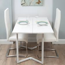 Folding Dining Room Table Dining Modern Dining Room Ideas Using White Foldable Dining Table