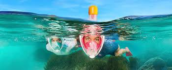 Easybreath snorkeling face mask | Subea