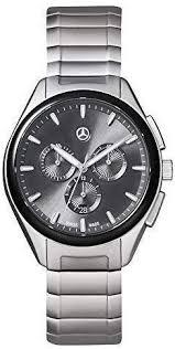 <b>Mercedes Benz</b> Original <b>Mens</b> Wrist Band Watch Stainless Steel ...
