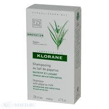 КЛОРАН (KLORANE) <b>Шампунь с молочком</b> папируса ...