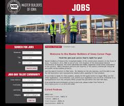 construction job board master builders of iowa through a partnership birddoghr we have developed an online job board for the exclusive use