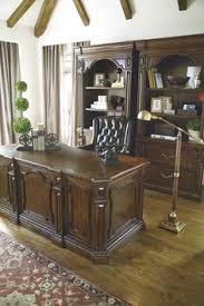 i love the carvings on this villa desk great for any weekend home office ashley furniture home store ashley furniture home office desk