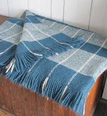 Hand <b>Woven</b> Wool Camp Blanket, Couch Throw, Cozy Modern ...