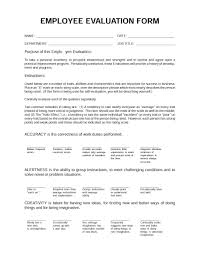 employee evaluation forms performance review examples performance review examples 04